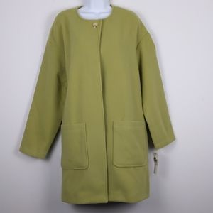 Kenneth Cole-Olive green(Citronelle ) long coat XL